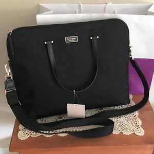 NWT-kate spade laptop bag-dawn